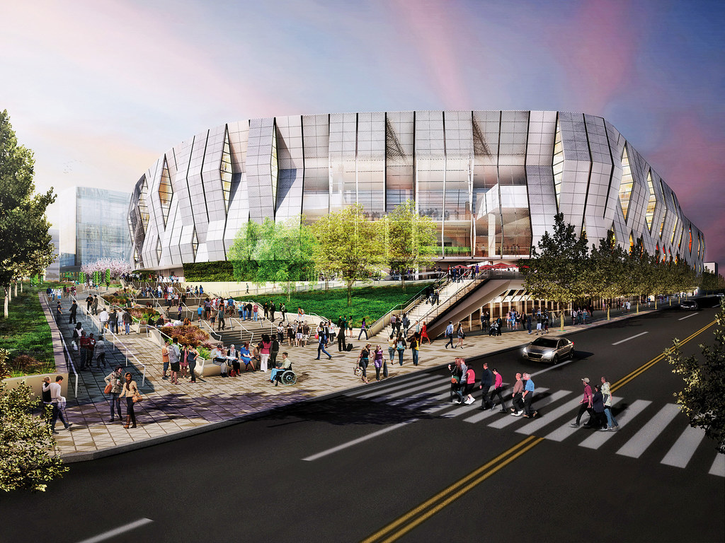 Golden 1, Sacramento, CA, USA:  A self-sufficient arena