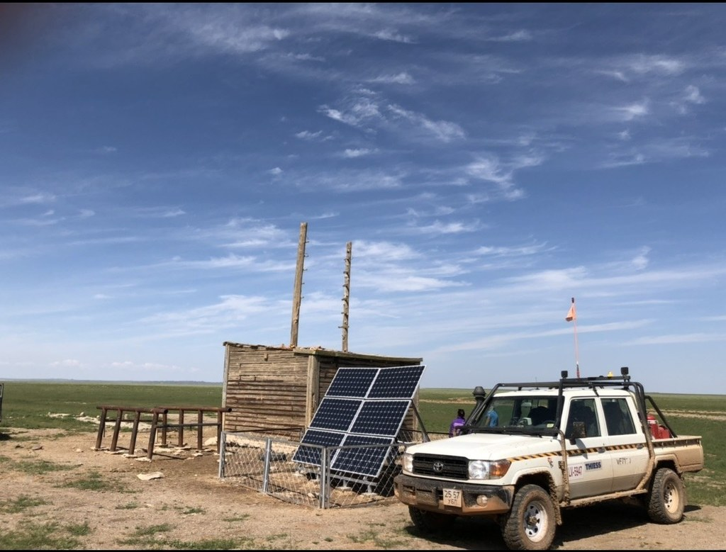 Thiess helps Mongolian herders to access water
