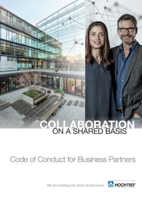 Download (PDF) -                      2018HOCHTIEF Code of Conduct for Business Partners (English edition)                 - File size: @filesize