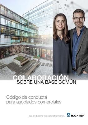Download (PDF) -                      2018HOCHTIEF Code of Conduct for Business Partners (Spanish edition)                 - File size: @filesize