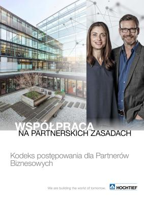Download (PDF) -                      2018HOCHTIEF Code of Conduct for Business Partners (Polish edition)                 - File size: @filesize