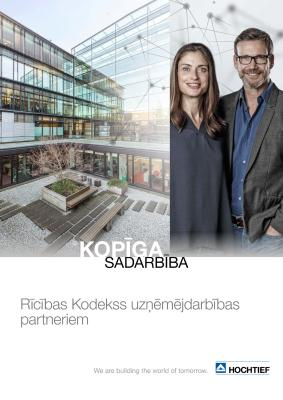 Download (PDF) -                      2018HOCHTIEF Code of Conduct (Latvian edition)                 - File size: @filesize