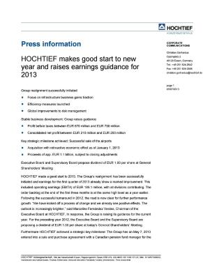 Download (PDF) -                          07.05.2013Press ReleasePress release                     - Dateigrösse : 0.14 MByte