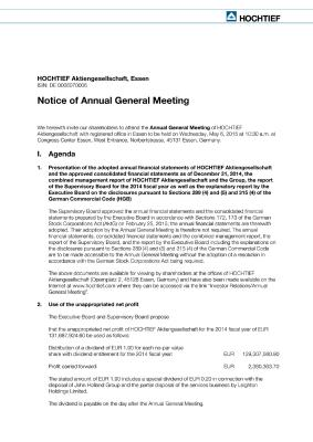 Download (PDF) -                          03.2015Invitation to the Annual General Meeting                     - Dateigrösse : 0.16 MByte