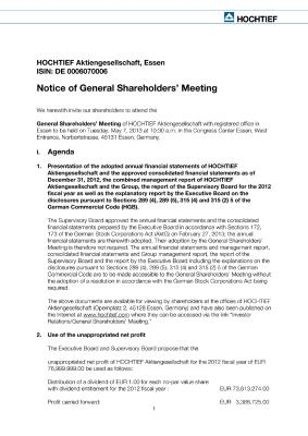 Download (PDF) -                          2013Invitation to the General Shareholders' Meeting                     - Dateigrösse : 0.13 MByte