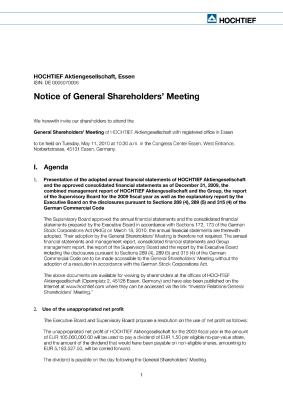 Download (PDF) -                          2010Invitation to the General Shareholders' Meeting                     - Dateigrösse : 0.21 MByte