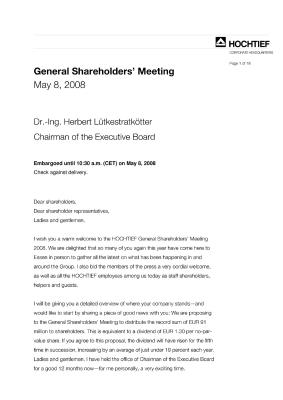 Download (PDF) -                          2008Speech Dr. Lütkestratkötter                     - Dateigrösse : 0.1 MByte