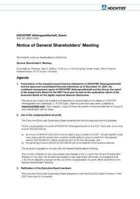 Download (PDF) -                          2008Invitation to the General Shareholders' Meeting                     - Dateigrösse : 0.11 MByte