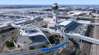 Automated People Mover (APM), Los Angeles International Airport (LAX)