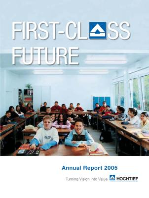 Download (PDF) -                          16.03.2006Annual report 2005HOCHTIEF Annual report 2005                     - Dateigrösse : 3.71 MByte