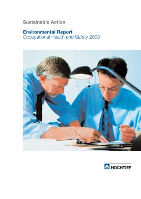 Download (PDF) -                      2003HOCHTIEF Environmental Report 2003                 - File size : @filesize
