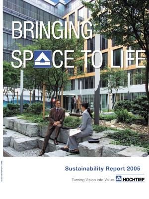 Download (PDF) -                      2005HOCHTIEF Sustainability Report 2005                 - File size : @filesize