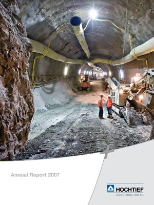 Download (PDF) -                          März 2008HOCHTIEF Construction AG Annual Report 2007                     - Dateigrösse : 1.26 MByte